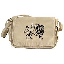 raw-lion-b.png Messenger Bag