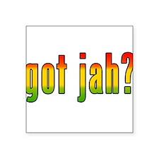 "gotjah-w.png Square Sticker 3"" x 3"""