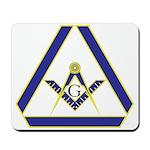The Masonic Triangle Mousepad
