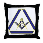 The Masonic Triangle Throw Pillow