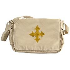 rasta-cross-w.png Messenger Bag