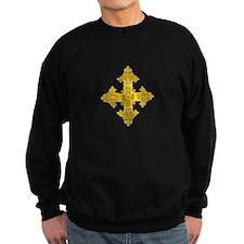 rasta-cross-w.png Jumper Sweater