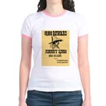 Wanted Johnny Ringo Jr. Ringer T-Shirt