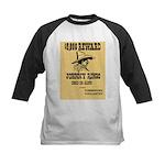 Wanted Johnny Ringo Kids Baseball Jersey