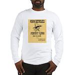 Wanted Johnny Ringo Long Sleeve T-Shirt