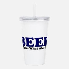 The Beer Cure Acrylic Double-wall Tumbler