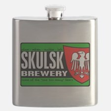 SKULSK-n-white.png Flask