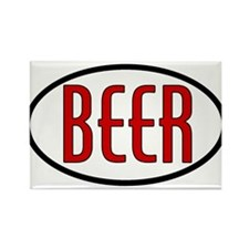 beer-n-w.png Rectangle Magnet (100 pack)