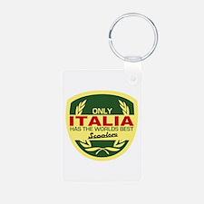 Italia Scooter Keychains