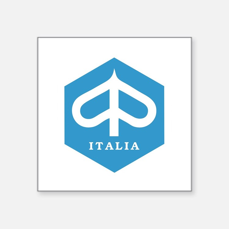 """ITALIA Square Sticker 3"""" x 3"""""""