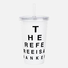 Blind REFEREE Acrylic Double-wall Tumbler