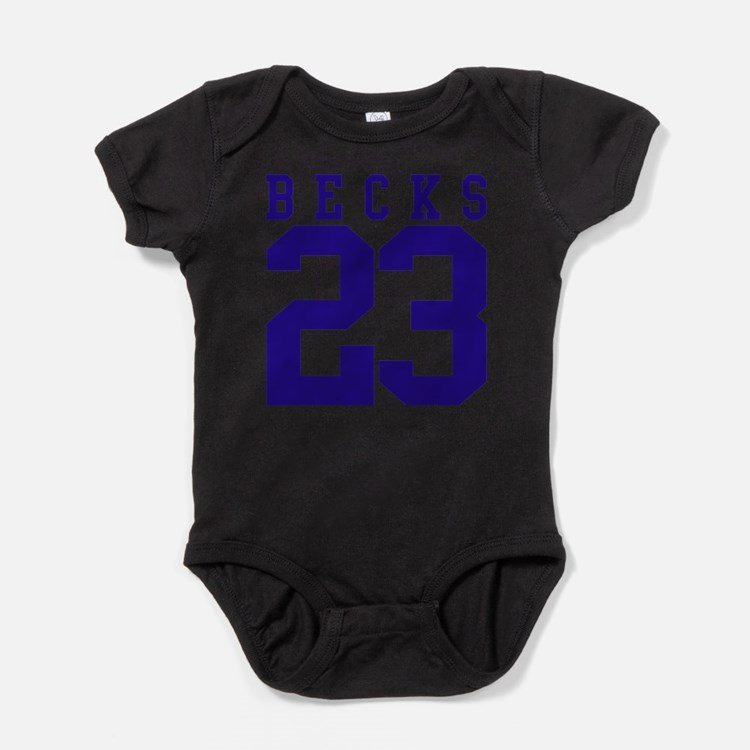 no23-blue.png Baby Bodysuit
