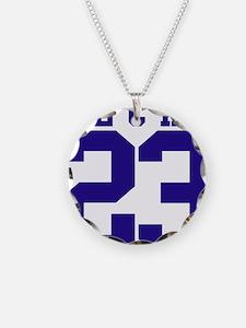 no23-blue.png Necklace