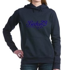 23-blue.png Women's Hooded Sweatshirt