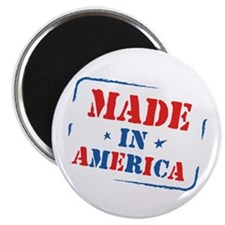 """Made In America 2.25"""" Magnet (10 pack)"""