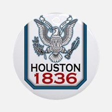 houston-1836.png Ornament (Round)