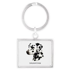 Dalmatian Landscape Keychain