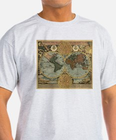 Cute Historic maps T-Shirt