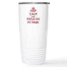 Cute I heart my coal miner Travel Mug