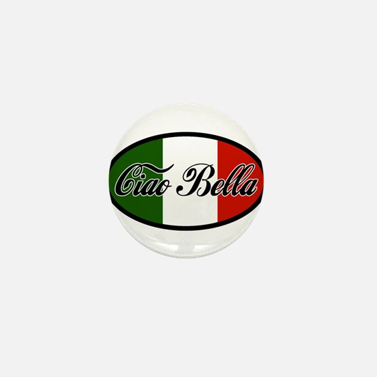 ciao-bella-OVAL2.png Mini Button