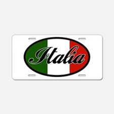 italia-OVAL.png Aluminum License Plate
