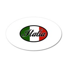 italia-OVAL.png Wall Decal