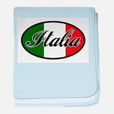 italia-OVAL.png baby blanket