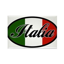 italia-OVAL.png Rectangle Magnet (10 pack)