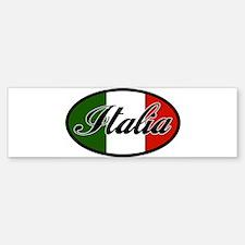 italia-OVAL.png Bumper Bumper Sticker