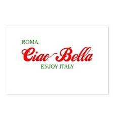 ciaobella-roma-c.png Postcards (Package of 8)