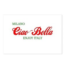 ciaobella-milano-c.png Postcards (Package of 8)