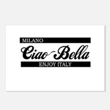 b-ciaobella-milano-b.png Postcards (Package of 8)