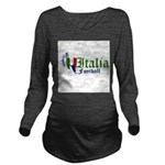 italia-football.png Long Sleeve Maternity T-Shirt
