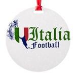 italia-football.png Round Ornament