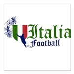italia-football.png Square Car Magnet 3