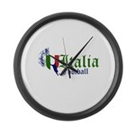 italia-football.png Large Wall Clock