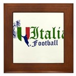 italia-football.png Framed Tile