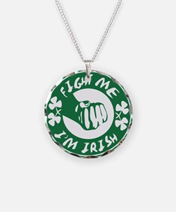 fightme-irish.png Necklace Circle Charm