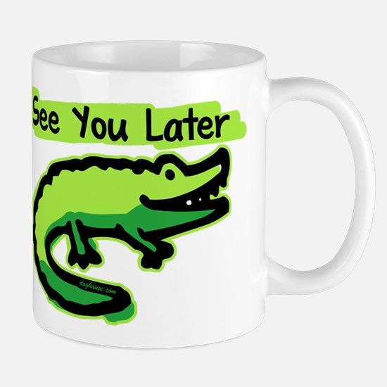 See You Later Alligator Large Mugs