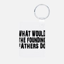 Founding Fathers Keychains
