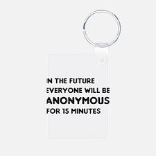 15 Minutes Keychains
