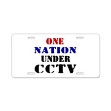 CCTV Aluminum License Plate