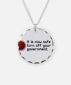 anti government Necklace