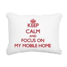 Cute I love my camper Rectangular Canvas Pillow