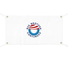 Big Brother OBAMA Banner