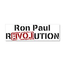 PAUL rEVOLution Car Magnet 10 x 3