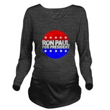Ron Paul Long Sleeve Maternity T-Shirt