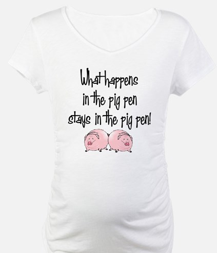 What happens with pigs ... Shirt