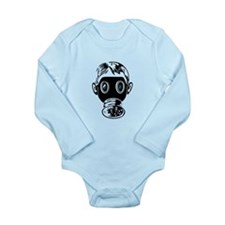 gas_mask-w.png Long Sleeve Infant Bodysuit