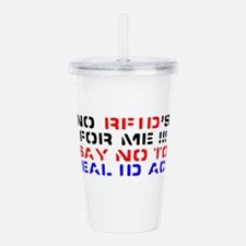 anti-bush Acrylic Double-wall Tumbler